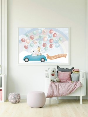 Poster Regnbåge