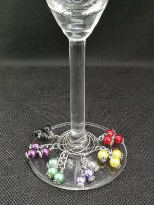 Glasmarkörer Tre pärlor