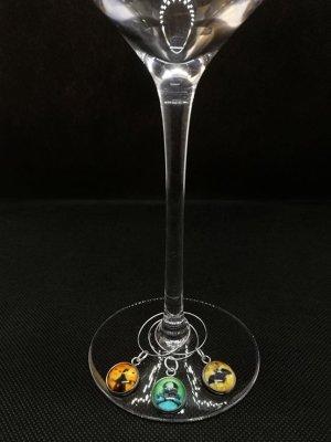 Glasmarkörer Halloween