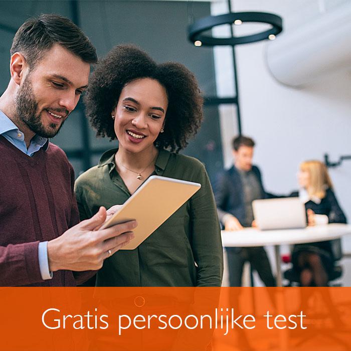 Test gratis je persoonlijke ontwikkeling