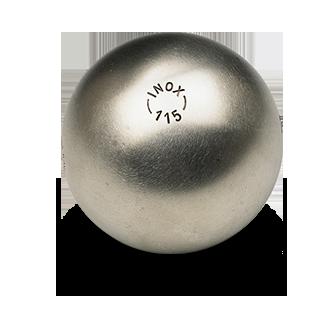 boule bleue inox 115