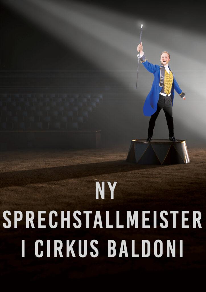 Peter bugtaler i Cirkus Baldoni