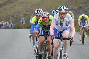 Wicklow Gap, Cyclists