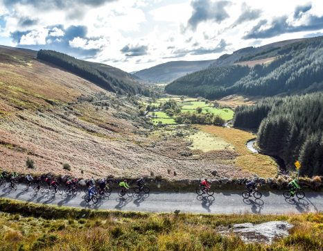 Wicklow 200 Training tips for Autumn on the Wicklow mountains in Ireland with Nicholas Roche and Philippe Gilbert
