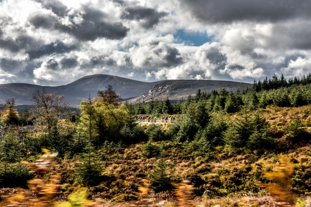 Wicklow 200 Training tips for Winter on the Wicklow mountains in Ireland with a group of riders lead by Nicholas Roche and Philippe Gilbert
