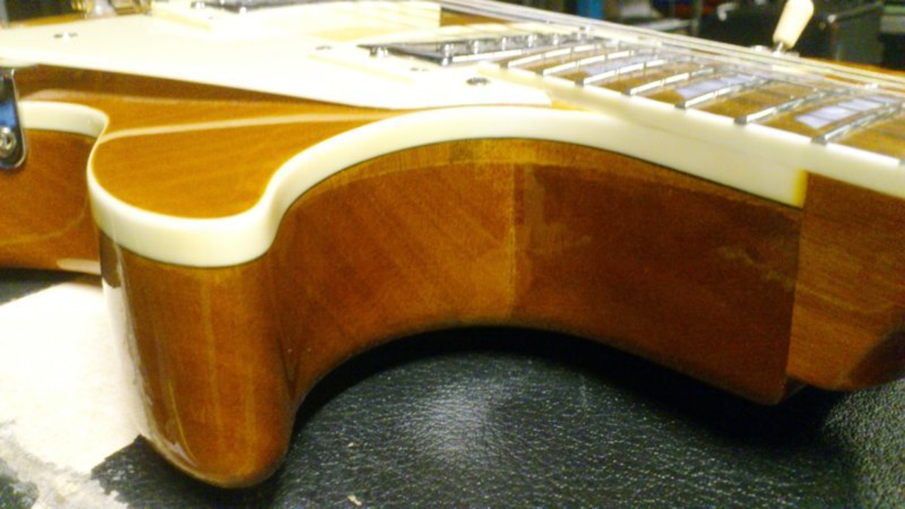 Gibson Les Paul China fake