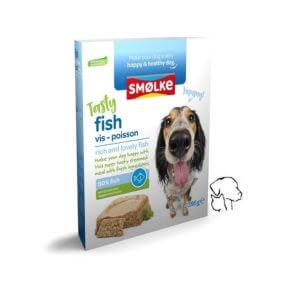 Smolke gestoomde maaltijd vis, goed voor de omega.