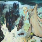 Oil painting by polish artist Edyta Hul