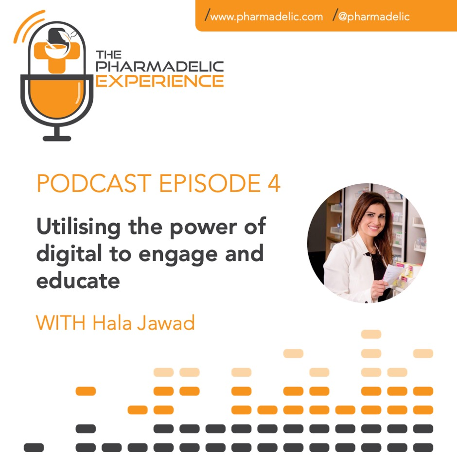 Pharmadelic Experience Episode 4 with Hala Jawad