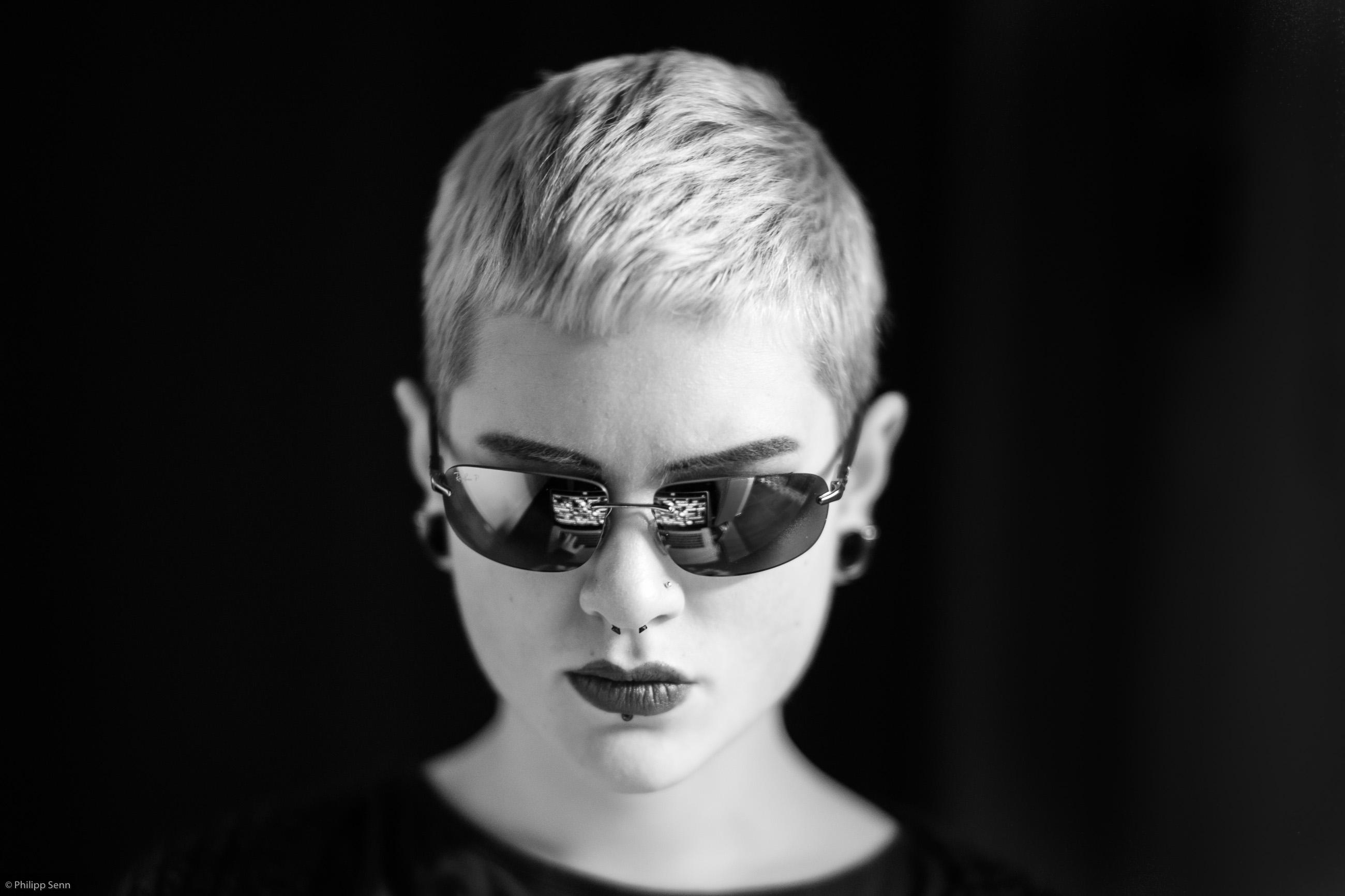 Millenium Model Schauspielerin Jamie Renée alias lisbeth salander