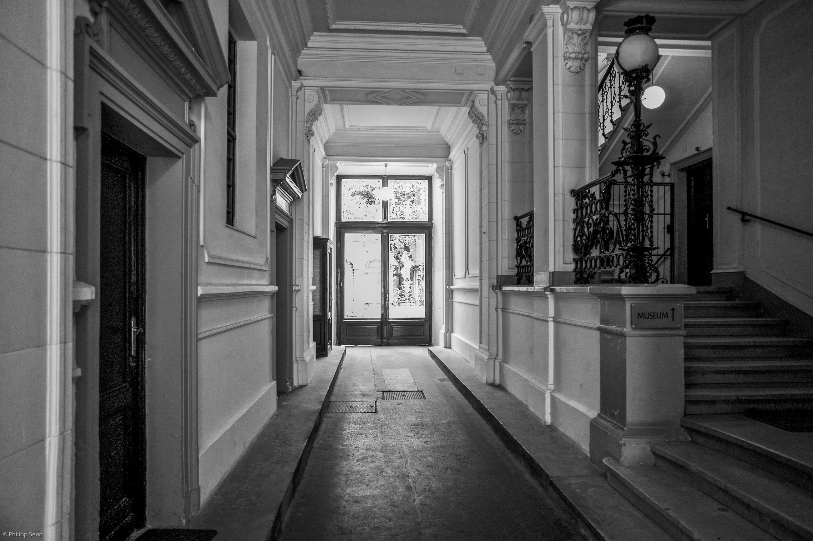 Berggasse 19 Sigmund Freud Eingangshalle mit Treppenstiege
