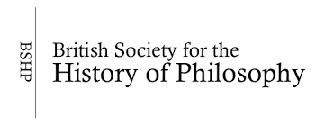 BSHP British Society for the History of Philosophy