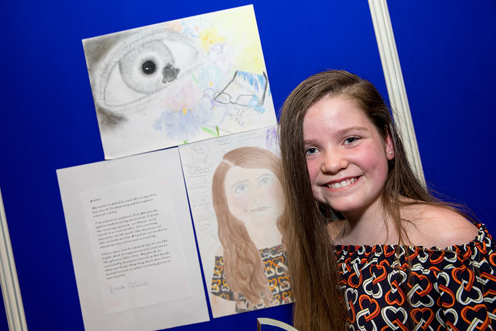 Amelia_photo CREDIT taken at the Irish Young Philosopher Awards and credited to Conor Healy Picture It Photography