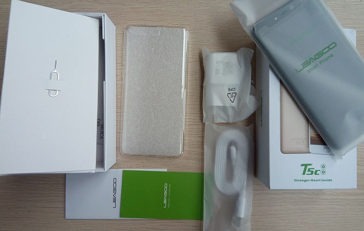 leagoo t5c box contents