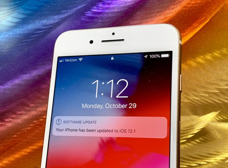 Install iOS 12.1 for Better Security