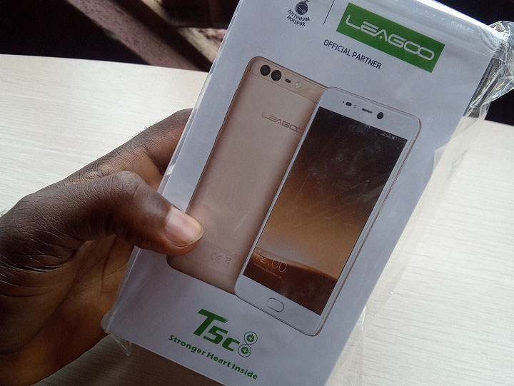 leagoo t5c box wrapped