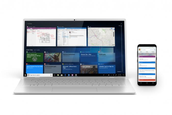 windows 10 october 2018 update laptop and phone 2