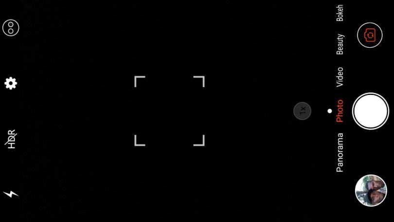 leagoo kiicaa power camera interface
