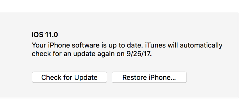 Restore-iPhone-option