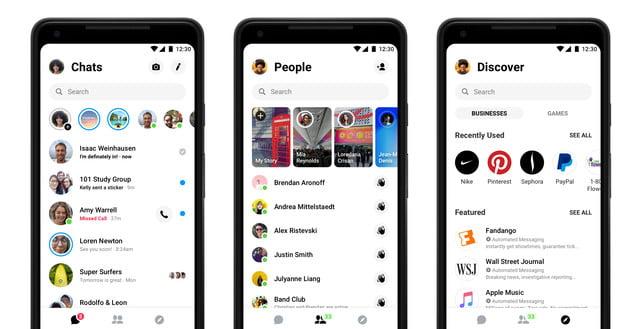 messenger redesign