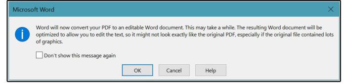 02b convert to word dialog box
