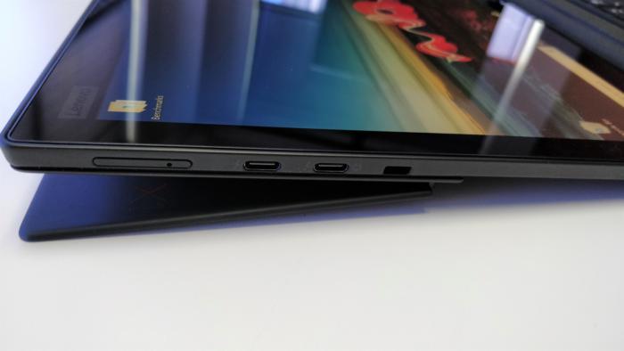 Lenovo ThinkPad X1 Tablet 2018  fully reclined 2