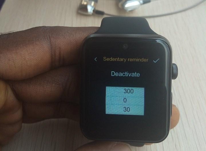 domino dm09 plus sedentary reminder