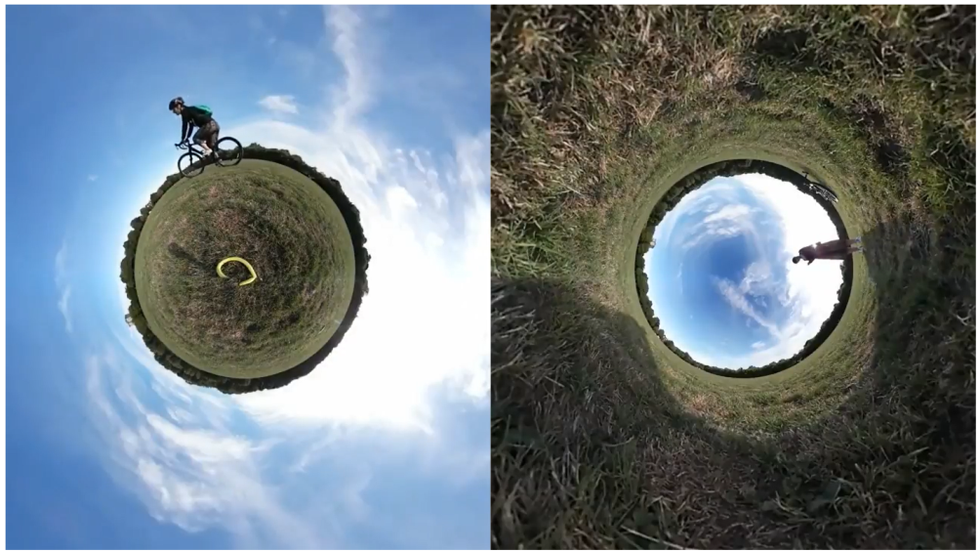 Small World 360-degree Effect