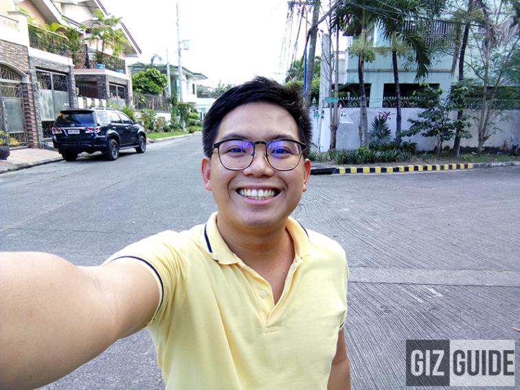 Selfie with Infinix Zero 4 Camera