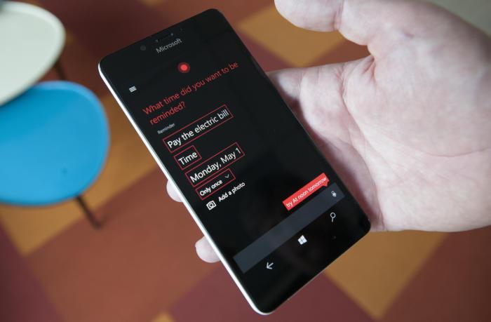 Microsoft Windows Phone Creators Update recurring reminder