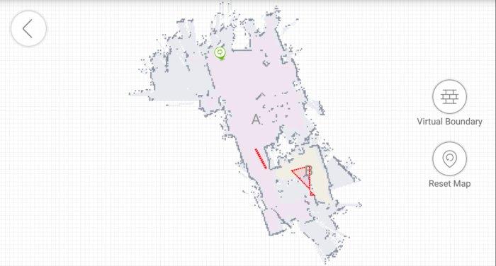 deebot 901 map