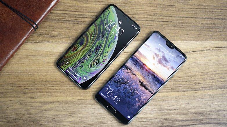 iPhone XS vs Huawei P20 Pro 01
