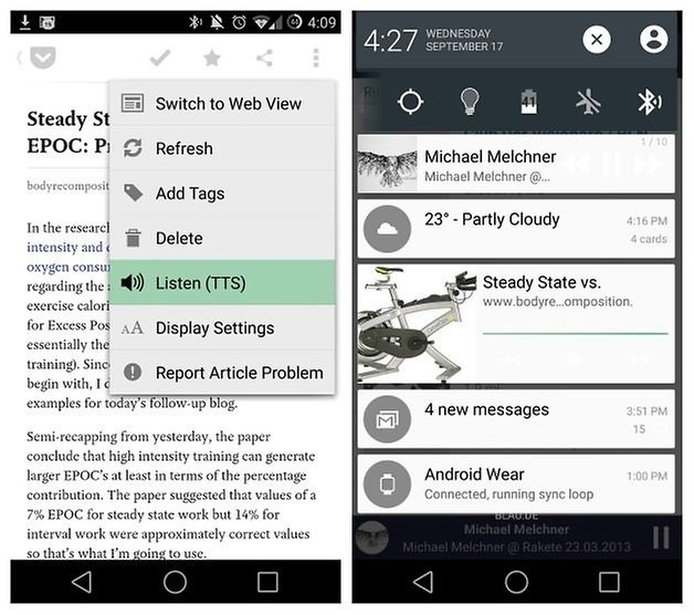 AndroidPIT Accessibility Text To Speech Pocket
