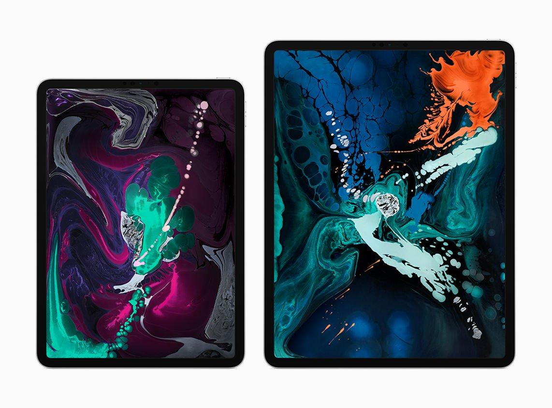iPad Pro 2018 sizes