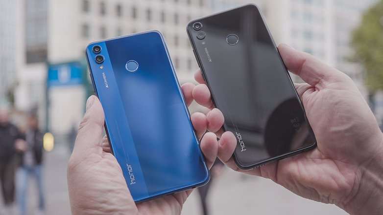 AndroidPIT honor 8x colors