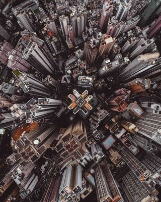 Astounding aerial photos or amazing abstract art image 15