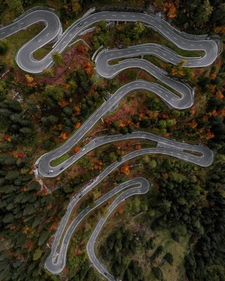Astounding aerial photos or amazing abstract art image 20