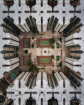 Astounding aerial photos or amazing abstract art image 13