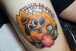 22 Geek Tattoos image 1