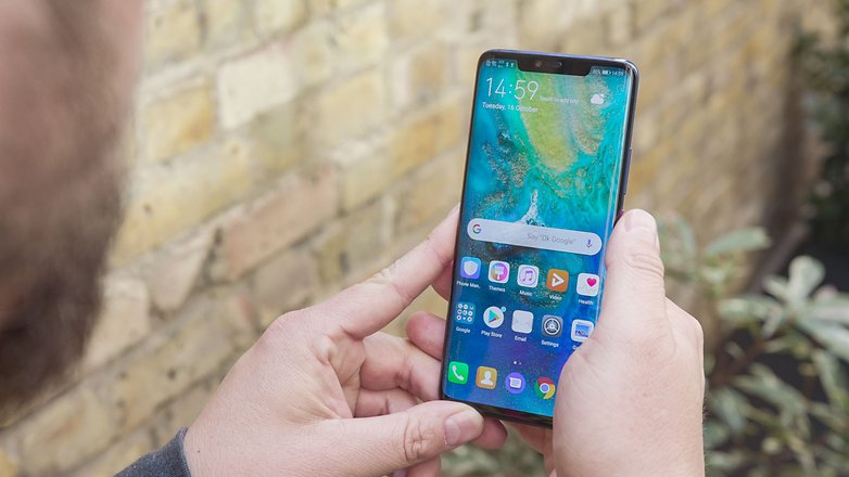 AndroidPIT huawei mate 20 pro display