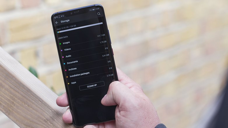 AndroidPIT huawei mate 20 pro storage