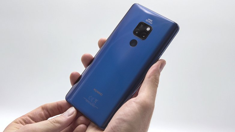 AndroidPIT huawei mate 20 back