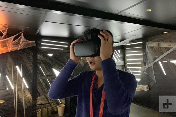 oculus quest face your fear demo