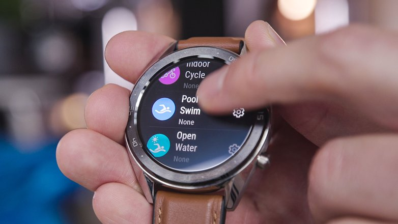 AndroidPIT huawei watch rs sports modes