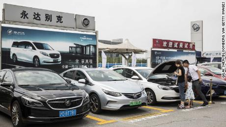 China is buying fewer cars. GM and VW are feeling the pain