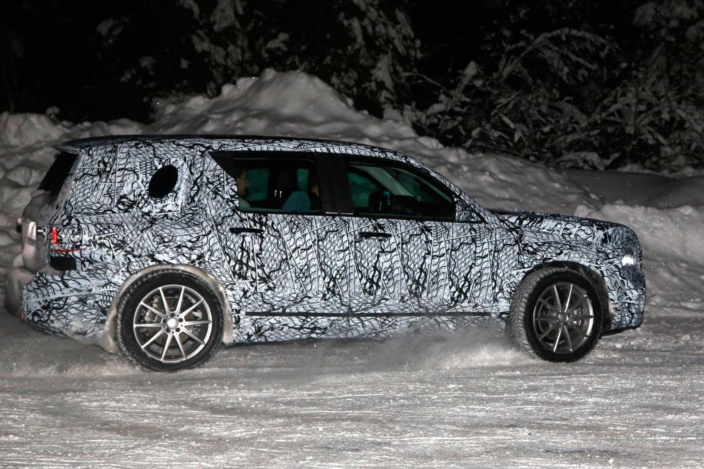 New Mercedes GLB - rear side
