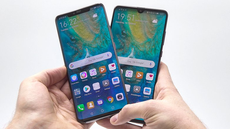 AndroidPIT huawei mate 20 vs mate 20 pro b