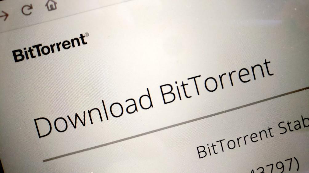 BitTorrent Download Page