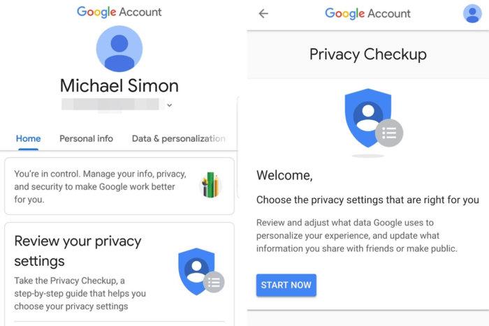 google privacy checkup1