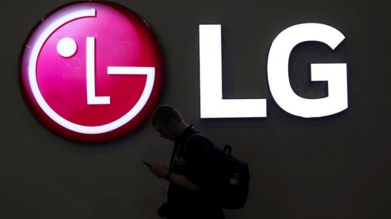 LG foldable display smartphone